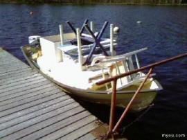 Båten laddad