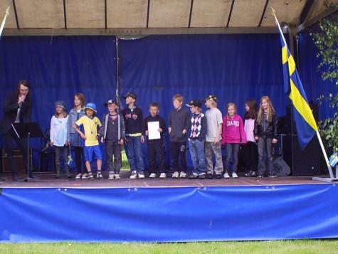 Idas klass vann 1:a pris