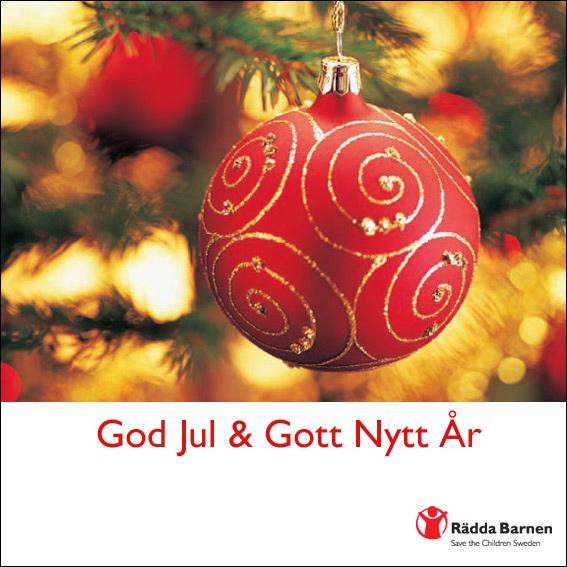 Julkort från Rätta Banrnen
